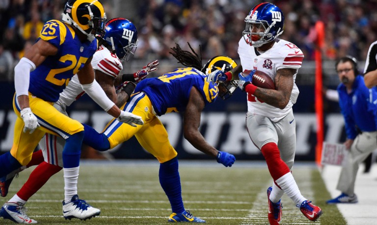 NFL: New York Giants at St. Louis Rams